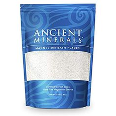 Magnesium Flakes Mega Pouch, 3.629kg - Ancient Minerals by GOOD HEALTH NATURALLY