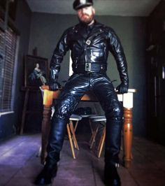 BIKER. LEATHER. BOOTS. NSFW ONLY 18+