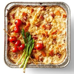 Please your whole family with this delicious Ham and Potato Casserole! It's good for breakfast or dinner! More casserole recipes: http://www.bhg.com/recipes/casseroles/company-worthy-casseroles/?socsrc=bhgpin112713hamandpotatocasserole&page=1