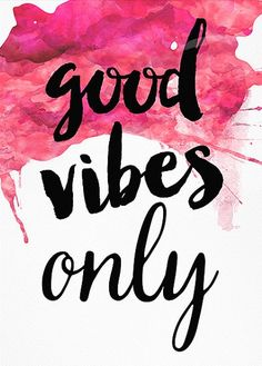 Good Vibes only, Motivational Wall Decor, Inspirational Print, Modern Art…