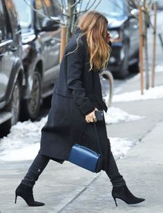 MK out in Tribeca