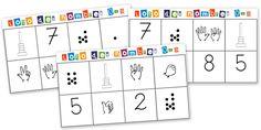 loto des nombres jeu maths à construire