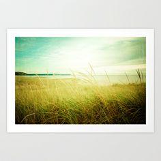 Beach Times Art Print by Olivia Joy StClaire - $19.00