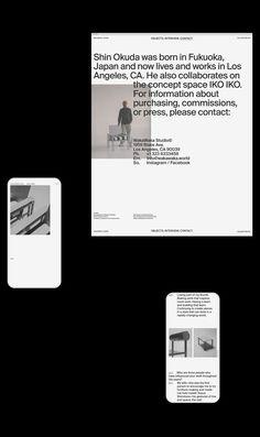 Ben Mingo creates a Waka Waka world to celebrate the company's 10 years in furniture design. Waka Waka is the Los Angeles-based furniture studio of Shin Okuda. Web Layout, Layout Design, Waka Waka, Amazing Websites, Okuda, Web Design, 10 Year Anniversary, Business Proposal, Ui Inspiration