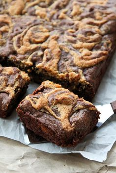Peanut Butter Swirl Brownies - Life Made Simple