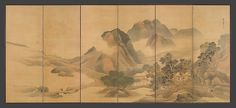 Yosa Buson | Travels through Mountains and Fields | Japan | Edo period (1615–1868) | The Met
