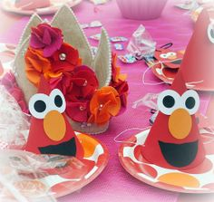 Elmo Party for a girl