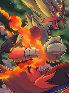 Mega Blaziken by seiryuuden.deviantart.com on @deviantART