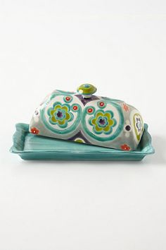 Can one have too many butter dishes??? Okuno Butter Dish #anthropologie