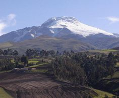 Andes Mountains, Ecuador | Mt. Cayambe