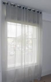 Sheer Curtains Over Roller Blinds Sheer Curtains Over Lights