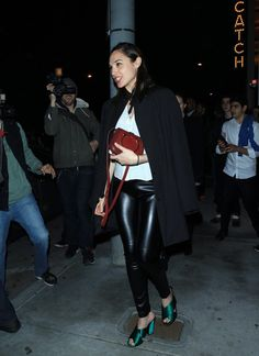 Gal Gadot Photos Photos - Celebrities Are Spotted at Catch in West Hollywood - Zimbio