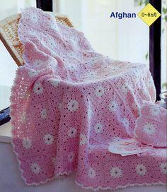 Baby Blanket free crochet graph pattern