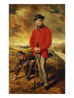 Portrait of John Whyte Melville, 1874 Giclee Print by Sir Francis Grant at AllPosters.com