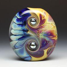 Duplicity - Lampwork Focal Bead ~ Whitney Lassini