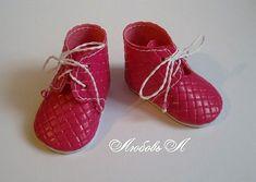 Как сделать ботиночки для куклы. Мастер класс и выкройка.