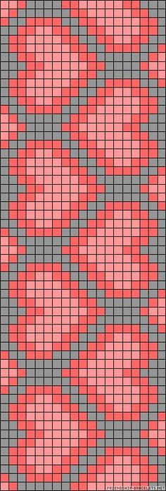 heart chart could be used for knitting, crochet, cross-sitch. Might be great on a wayuu mochilla Tapestry Crochet Patterns, Bead Loom Patterns, Beading Patterns, Cross Stitch Patterns, Cross Stitch Bookmarks, Cross Stitch Heart, Cross Stitch Embroidery, Crochet Chart, Filet Crochet