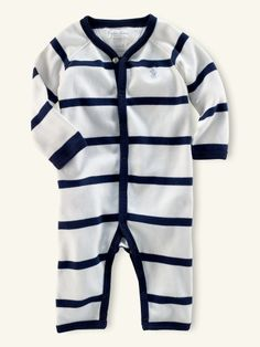 Ralph Lauren baby boy Striped Coverall