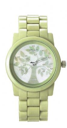 Reloj Eco-friendly fabricado con resina de maiz.