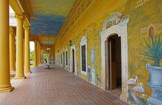 los inolvidables murales de Calocho Millet de nuestra hacienda Tekik de Regil