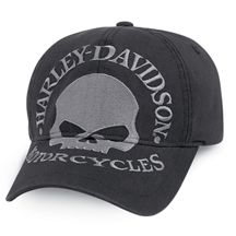 2c90a2a4f30  25   Harley Davidson. For Josh. Men s Skull Fitted Baseball Cap Harley  Gear