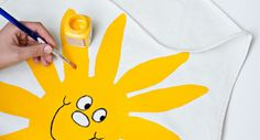 Aurinkoinen esiliina Plastic Cutting Board