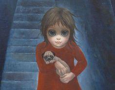 """""""Le persone o amano i miei quadri o li detestano. Non esiste una via di mezzo riguardo la mia arte."""" Margaret Keane Immagine reperita su google."""