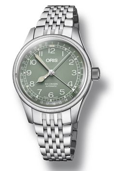 Oris-Big-Crown-Pointer-Date-steel-36mm-Baselworld-2018-2 Oris Aquis, Swiss Watch Brands, Watch Companies, Pointers, Chronograph, Omega Watch, Watches For Men, Dating, Bronze