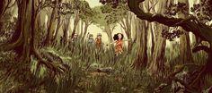 Médée 1: L'Ombre d'Hécate (un dessin de la synopsis oficielle) Auteurs :  Blandine le Callet et Nancy Peña   Editeur : CASTERMAN (13 novembre 2013)