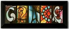 "'Grace"" Stained Glass Letter Art, Mardel"