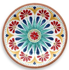 Rio Medallion Assorted Salad Plate (Set of - The Home Depot - ProductsTar Hong Direct Rio Medallion Assorted Salad Plate (Set of Pottery Painting, Ceramic Painting, Ceramic Art, Blue Pottery, Ceramic Pottery, Talavera Pottery, Dinner Plate Sets, Dinner Plates, Dinner Ware