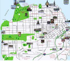 Landmarks and Attractions | Beijing Tour Map | Pinterest | Beijing ...