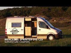 Custom Built Mercedes Sprinter RV Camper Van Conversion Buscamper - YouTube