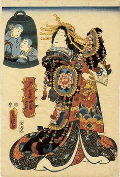 ギャラリーそうめい堂/Gallery Soumei-do > 浮世絵 Ukiyoe > 豊国三代 ToyokuniⅢ > 今様三十二相 上がりがよさ相の類似商品