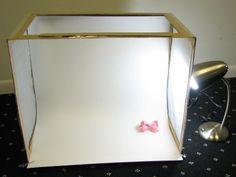How to make light box/light tent