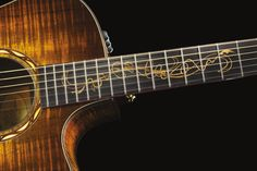 Taylor Guitars has unveiled its new 2011 Fall Limited Edition Guitars, featuring premium tonewoods: Cocobolo, Koa, Indian Rosewood with new inspired inlay designs. Taylors Falls, Taylor Guitars, Wood Steel, New Baby Products, Acoustic Guitars, Music Stuff, Diversity, Writers, Design