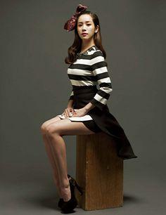 Harper's Bazaar Korea Models:Han Ji Min&Jung Jae Young January 2014