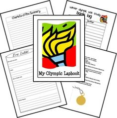 Summer Olympics 2012 Unit Study & Lapbook. Fun way to learn about the Olympics