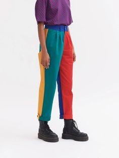 Unisex Clothes, Unisex Outfits, Crazy Pants, Split Design, Lazy Oaf, Crazy Outfits, Pants For Women, Clothes For Women, Colored Pants