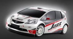 Honda Fit/Jazz rally car