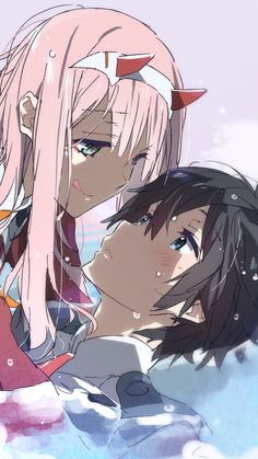 Anime, Darling in the FranXX Mobile Wallpaper Me Me Me Anime, Anime Love, Manga Romance, Manga Art, Anime Art, Persona Anime, Comics Anime, Zero Two, Darling In The Franxx