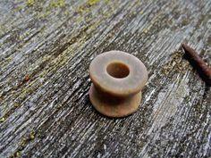 Pink & Green stone gauges from http://bensgauges.blogspot.ca