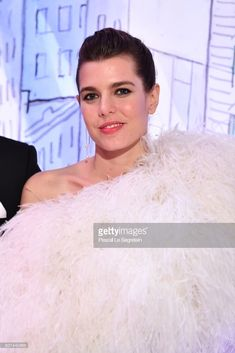 News Photo : Charlotte Casiraghi arrives at the Rose Ball 2018...