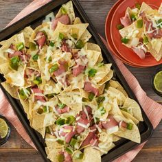 Philly Cheese Steak Nachos - Create the tastiest Philly Cheese Steak Nachos, Tostitos® own Steak recipe with step-by-step instructions. Make the best Steak recipe for any occasion.