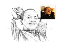 I will change your portrait photo into an artistic sketch, very idealfor…