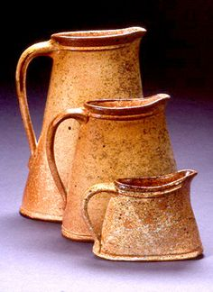 *Ceramic Pitchers by George Lowe
