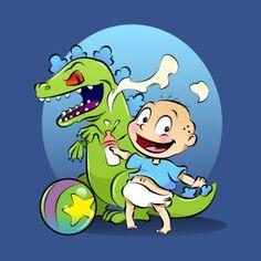 Rugrats Cartoon, Nickelodeon Cartoons, Cartoon Pics, Disney Cartoons, Childhood Tv Shows, 90s Childhood, Classic Cartoon Characters, Classic Cartoons, Disney Drawings
