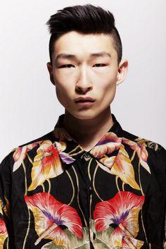 Sang Kim, new model under M and P Models. Sang Woo Kim, Korean from London.