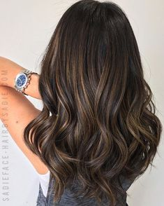 Balayage Ombre Hair Color Ideal For You – Page 18 Best Ombre Hair, Ombre Hair Color, Hair Color Balayage, Hair Highlights, Hair Color For Morena Skin, Ombré Hair, Luxury Hair, Brunette Hair, Gorgeous Hair