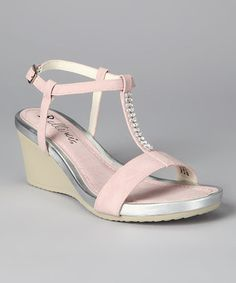 Bellini  -  Pink Temple Wedge Sandal